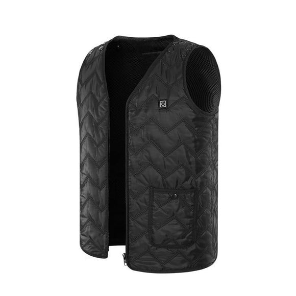 new design fashion winter USB Electric Heated Vest Adjustable Heated Clothing for Body Warmer in Winter New year gift