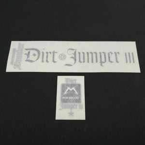 RH+LH LABELS DJ2 SILVER/ BLACK