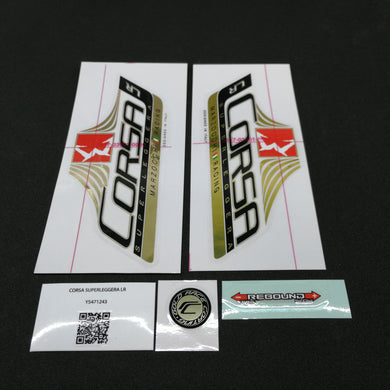 STICKER KIT MY13 CORSA SL LR WHTF #R