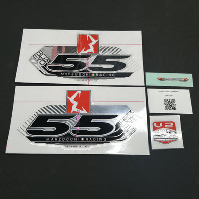 STICKER KIT MY13 55 RC3 EVO TI WHTF #R