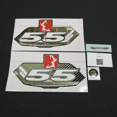 STICKER KIT MY13 55 CR BLK-FORK #R