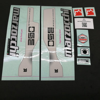 MARZOCCHI CR 320 Fork Sticker Decal Set