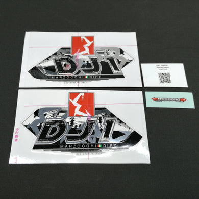 STICKER KIT MY13 DJ1 WHT-FORK #R