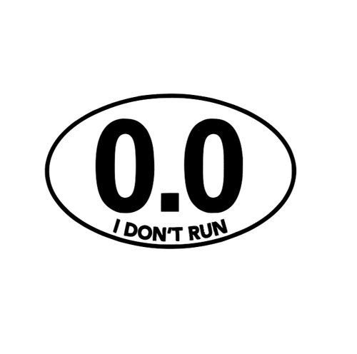 0.0 Marathon Decal