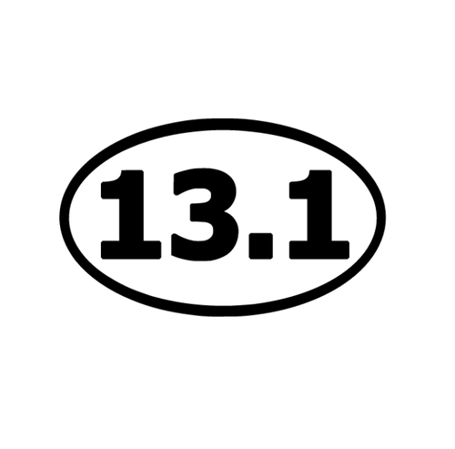 13.1 Marathon Decal - Self Expressions Decals & More