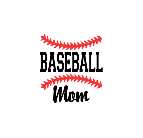 Baseball Mom Car Decal