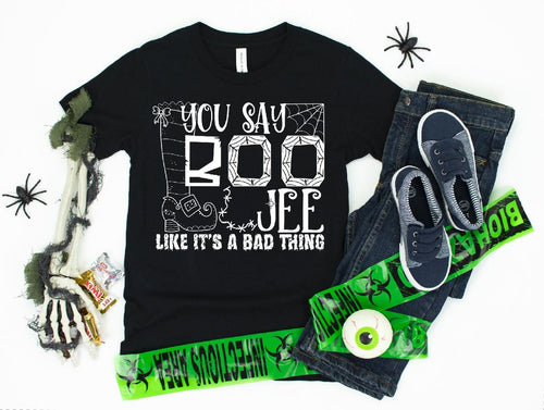 You Say Boo Youth Shirt