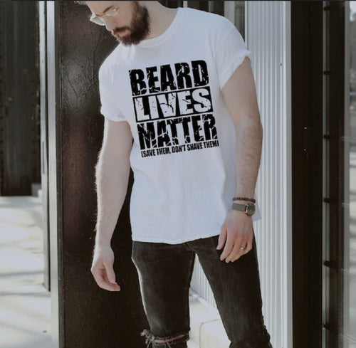 """Bearded Lives Matter"" - Self Expressions Decals & More"