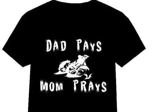 """Dad Pays, Mom Prays"" - Self Expressions Decals & More"