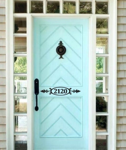 Personalized House Number Decal - Self Expressions Decals & More
