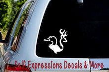 Load image into Gallery viewer, Buck Bass Duck Car Decal - Self Expressions Decals & More