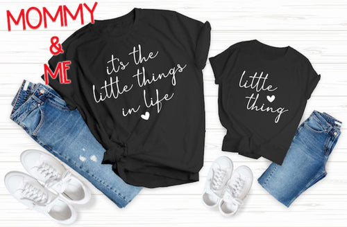 "Mommy & Me ""It's the little things"" - Self Expressions Decals & More"
