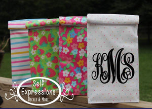 Personalized Insulated Lunch Bag - Self Expressions Decals & More