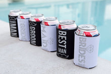 Load image into Gallery viewer, Wedding Party Beverage Can Holder - Self Expressions Decals & More
