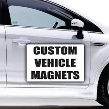 Custom Bussienss Car Magnets - Self Expressions Decals & More
