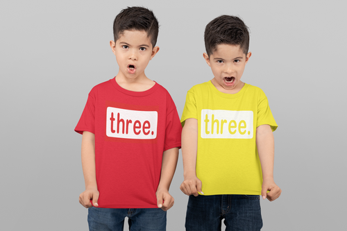 Youth Birthday Age Shirt - Self Expressions Decals & More