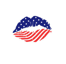 Load image into Gallery viewer, American Lips Decal - Self Expressions Decals & More