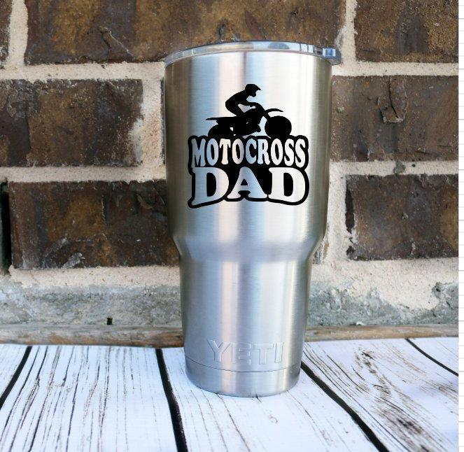 MX Motocross Dad Decal