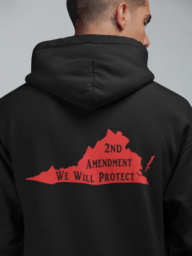 """VA- We Will Protect"" Hoodie - Self Expressions Decals & More"