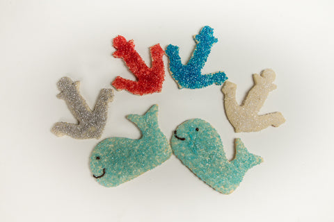 By the Sea Shore Sugar Cookies