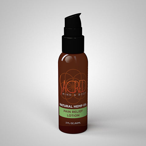 Natural Hemp Pain Relief Lotion