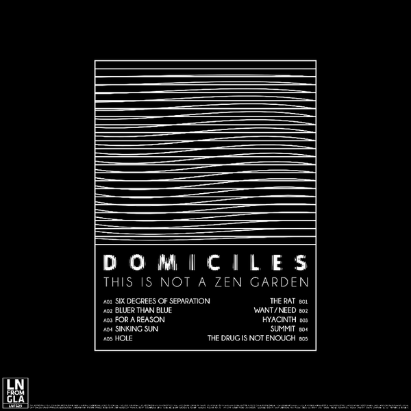 Domiciles - This Is Not A Zen Garden - Vinyl, CD & DL