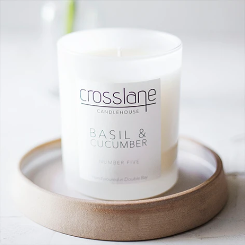 BASIL AND CUCUMBER CANDLE