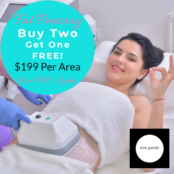 MAY DEALS Fat Freezing Cryolipolysis 1 area - only $199 (Not $499.00) Buy 2 Vouchers get One additional voucher! (Save up to $1,009)