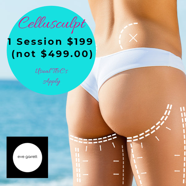 MAY DEALS - CelluSculpt EM Sculpting Muscle Building Fat Burning Only $199 per session (not $499) Buy 2 Sessions and get 3rd Session Free!