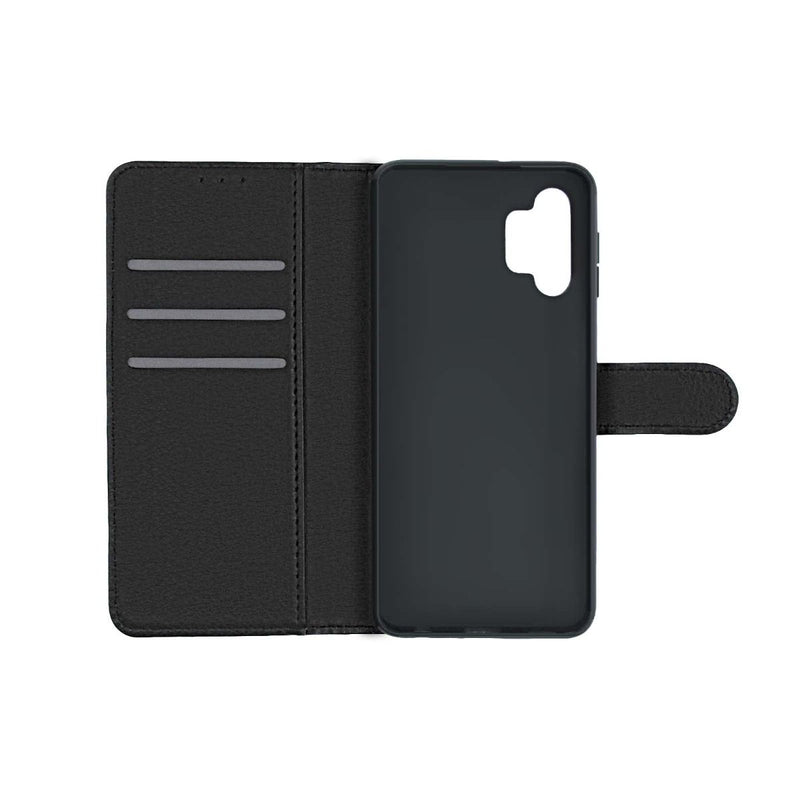 Samsung Galaxy A32 5G Flip Stand Leather Wallet Case Black High Quality
