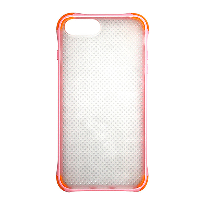 Fitted Case  For iPhone 7 Plus/9 Plus  Pink and Orange