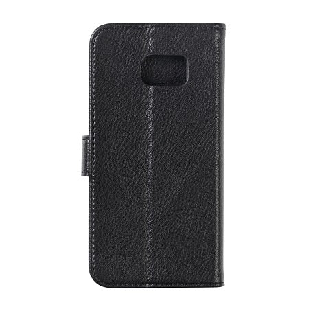 G-SP Leather Wallet Samsung S7 Genuine leather Black