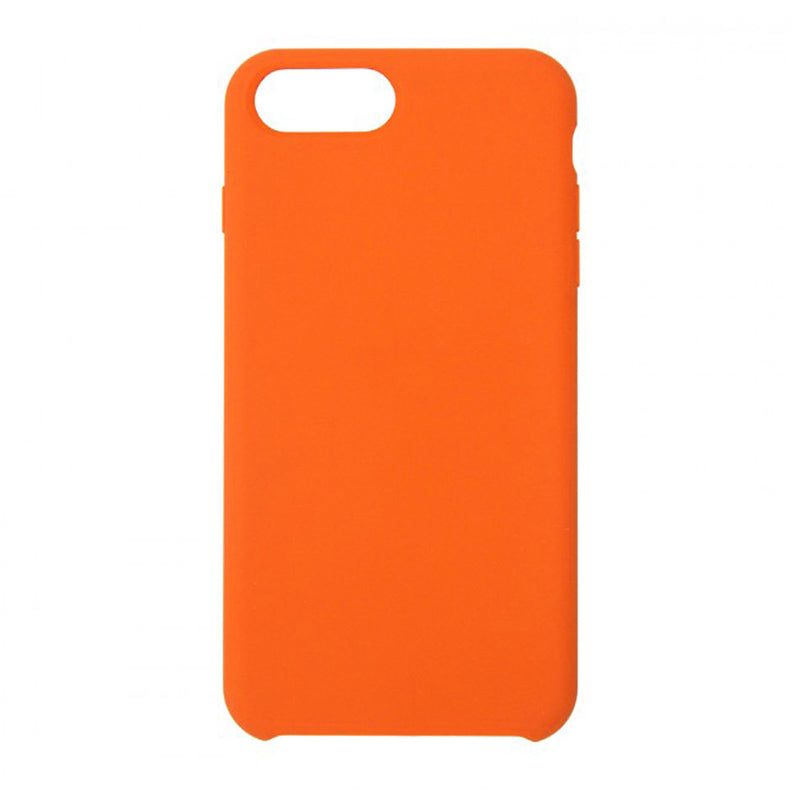 Silicone Case For iPhone 7 Plus/8 Plus  Orange