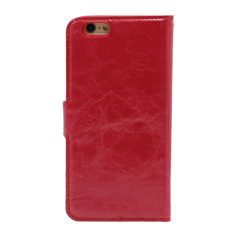 Detachable Leather Case For iPhone 6/6S Red