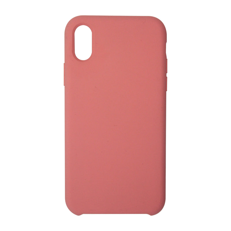 Liquid Silicone Case For iPhone X/XS Pink