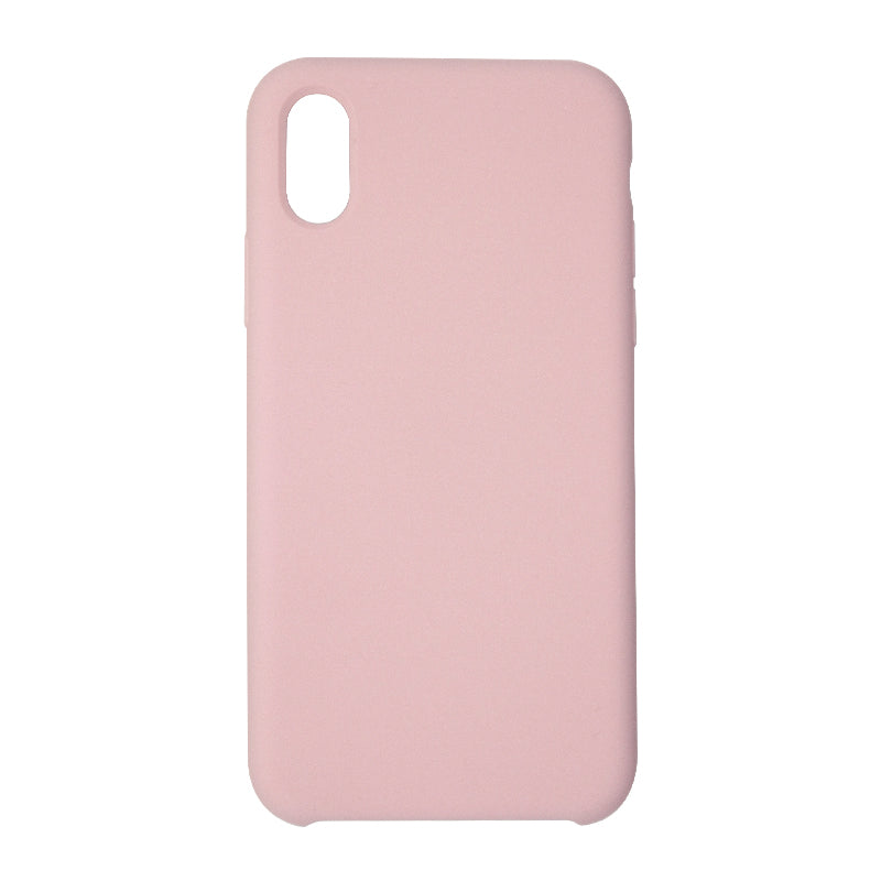 Silicone Case For iPhone X/XS Pink