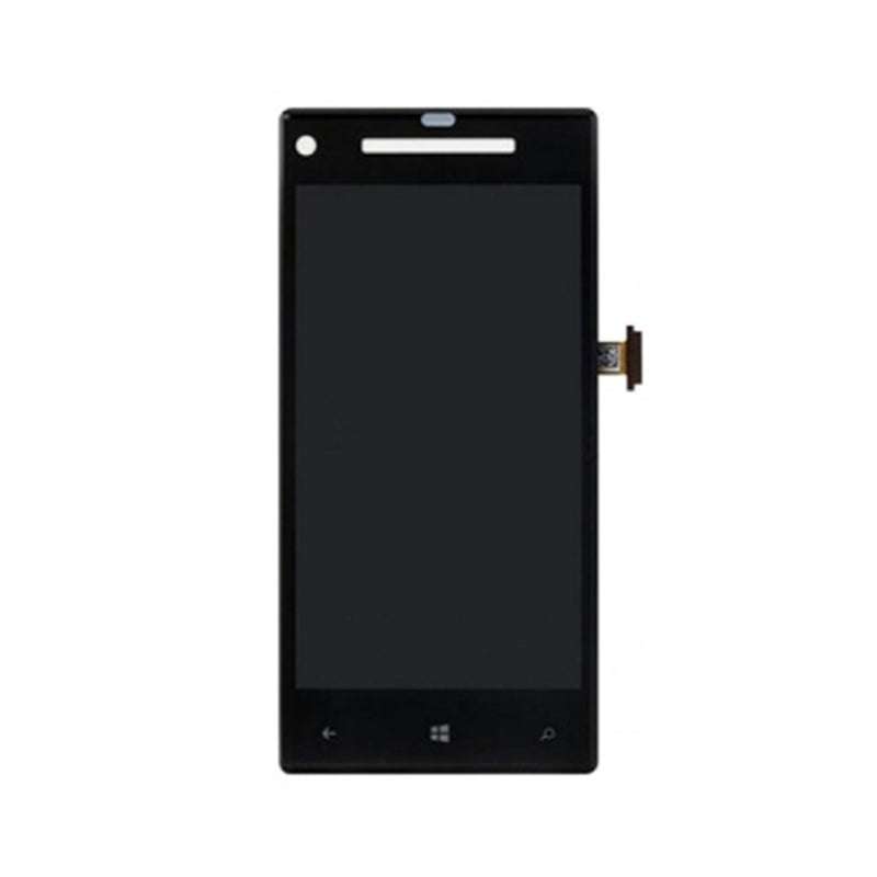 HTC 8X LCD Complete Black