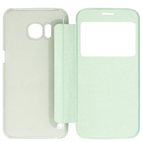 Folio Case For Samsung S7 Green