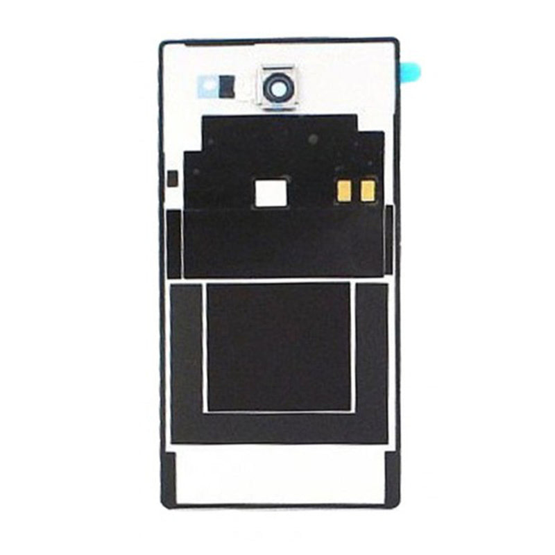 Sony Xperia M2 D2303 Back Cover Black With Adhesive