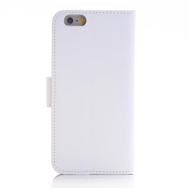 Flip Stand Leather Case For iPhone 6/6S White
