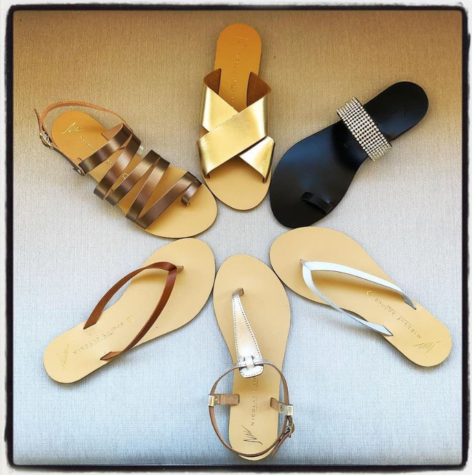 Summer is on it's way! Nicolas Lainas sandals handmade in Greece