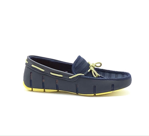 Swims Knit Lace Navy/Limelight Loafer