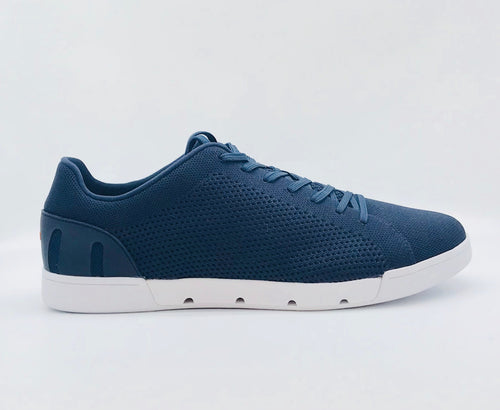 Swims Breeze Tennis Knit - Navy/White