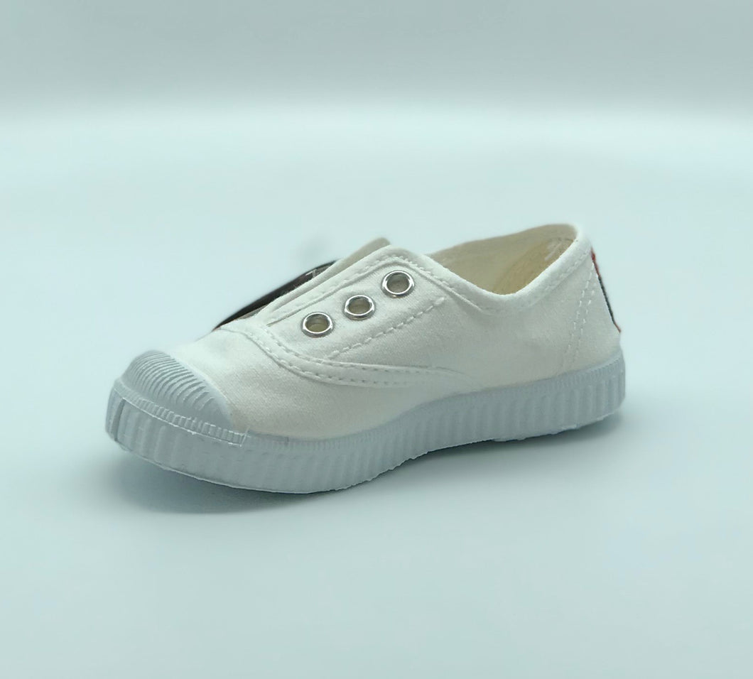 Cienta Sneaker Solid White