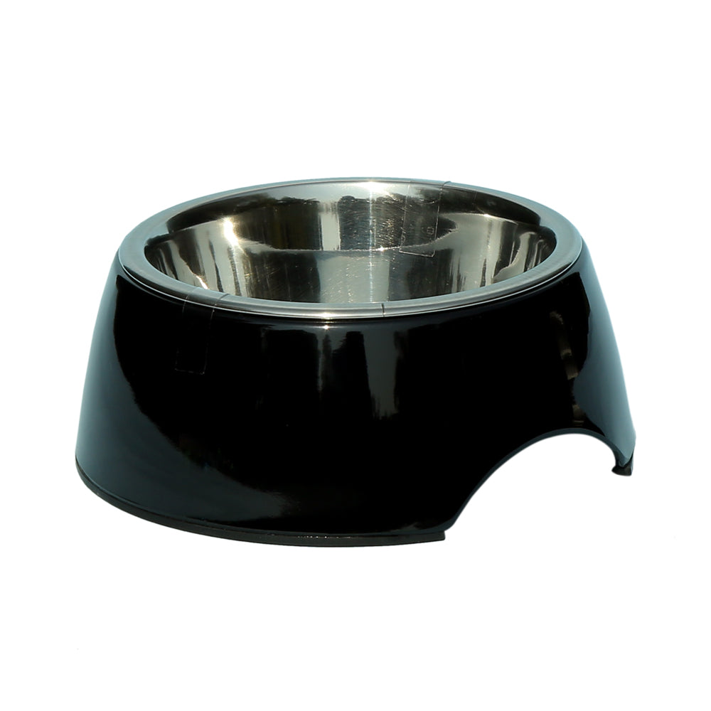 Melamine Belly Bowl-Black