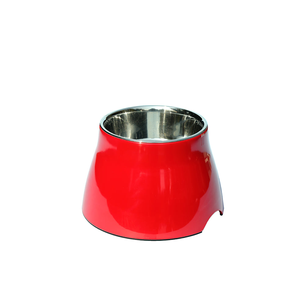 Elevated Bowl-Red- 520 ml