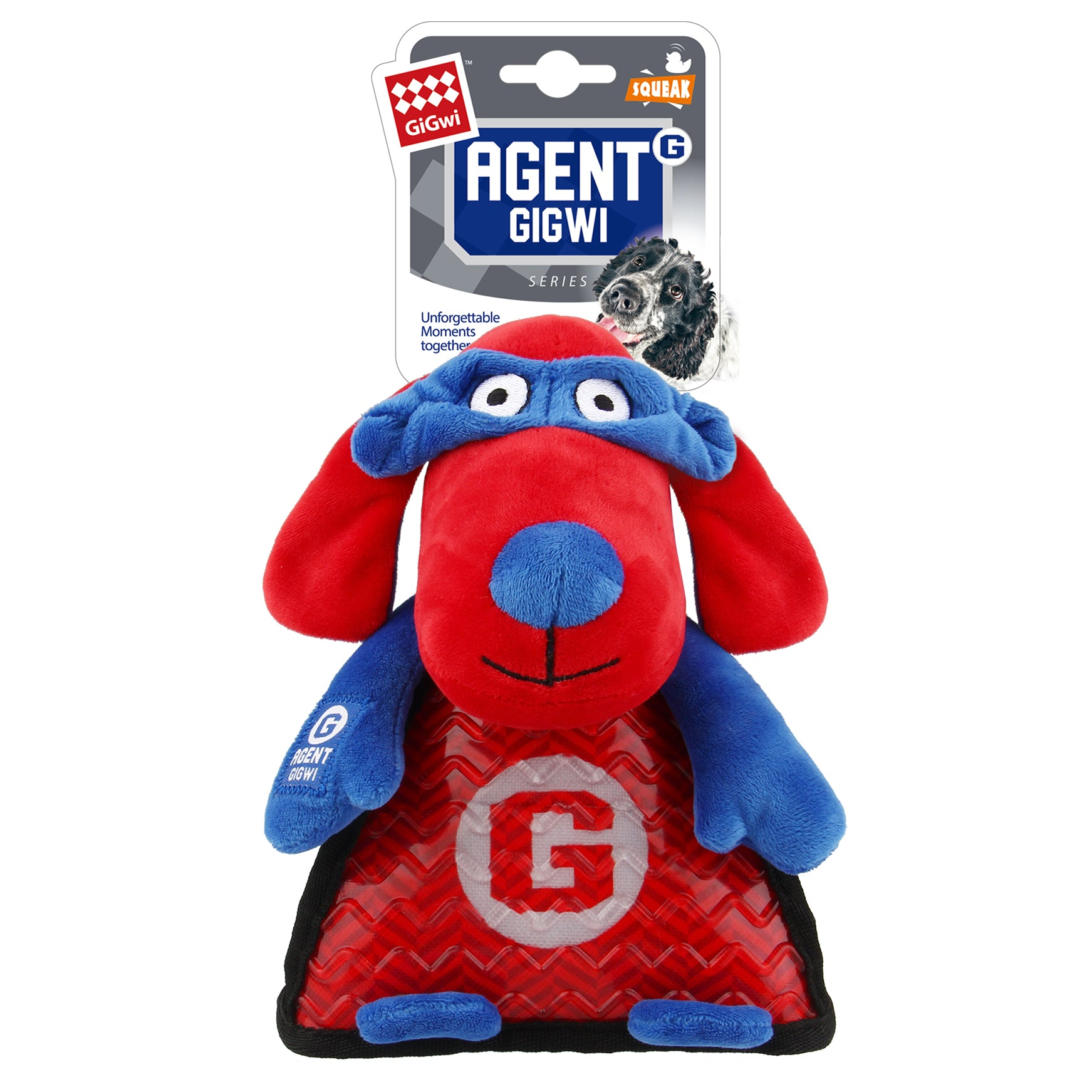 Agent GiGwi Dog TPR Belly with Squeaker-S