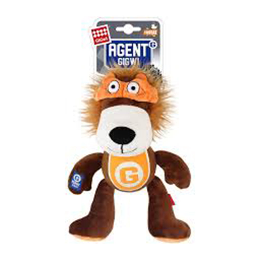 Agent GiGwi Lion and Tennis Ball with Squeaker