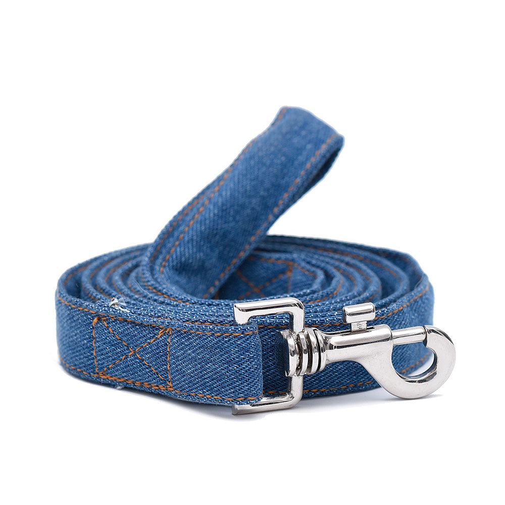 Dark Denim Leash