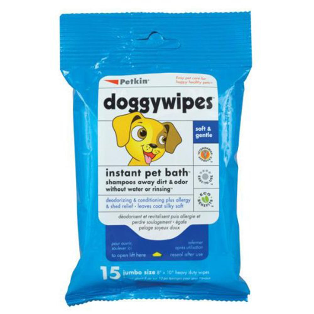Doggywipes 15 wipes
